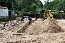 Grabungen für Fundament