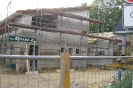 Dachkonstruktion auf der Halle (26.9.2012)